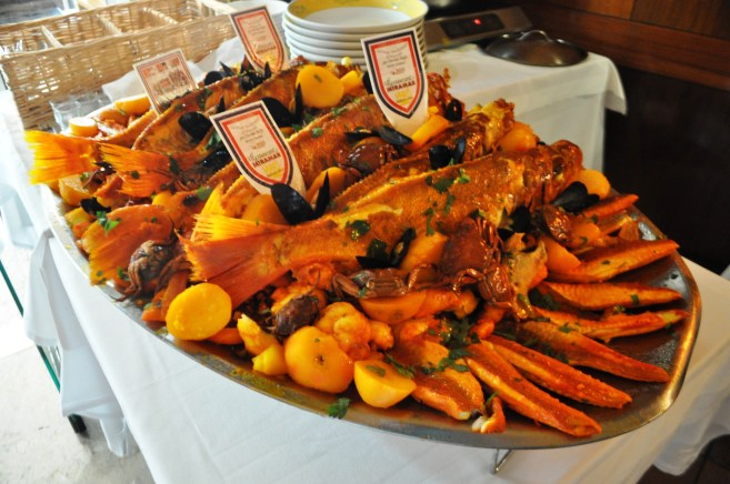 Le Miramar Restaurant is Located Steps Away from the Marseille Fish Market is Famous for its Bouillabaisse.