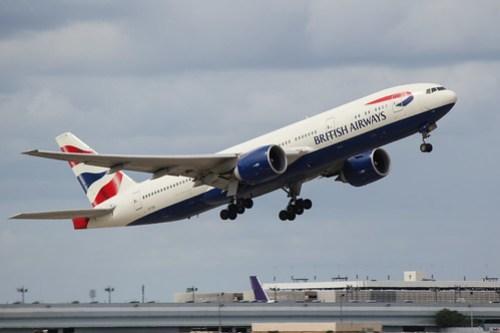 British Airways Departure at IAH