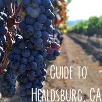 Guide to Healdsburg, CA