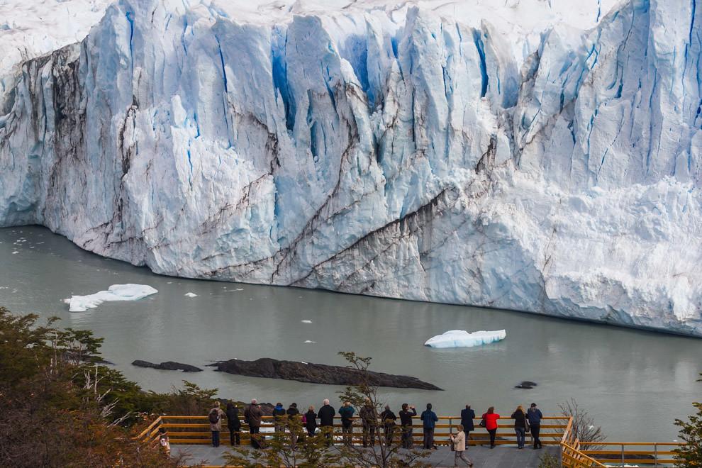 La grandeza del Glaciar Perito Moreno sorprende y asombra. (Tetsu Espósito).
