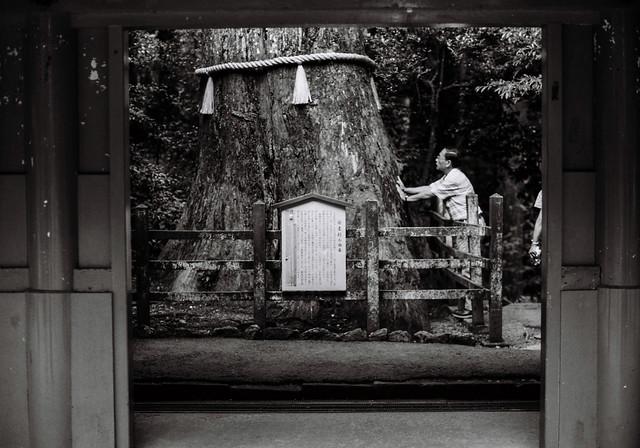 Monochrome life in Japan