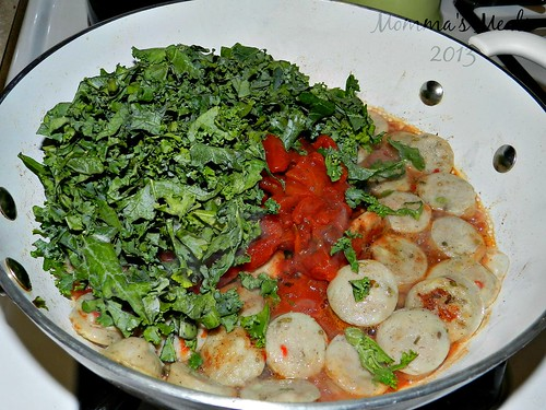Creamy Tomato Pasta & Sausage (3)