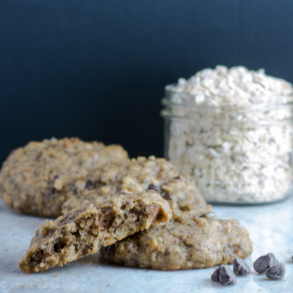 Chocolate Chip Flax Seed Cookies