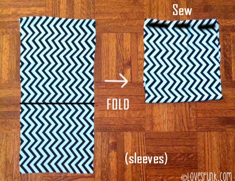 DIY Kimono Cardi step 4