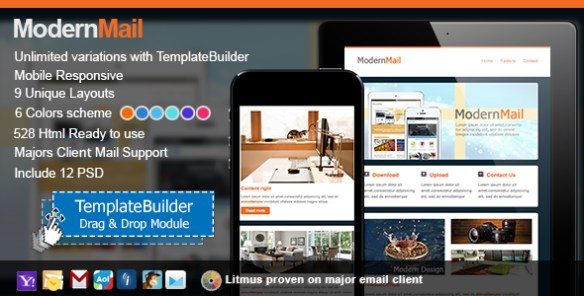 Modern Responsive Email Template