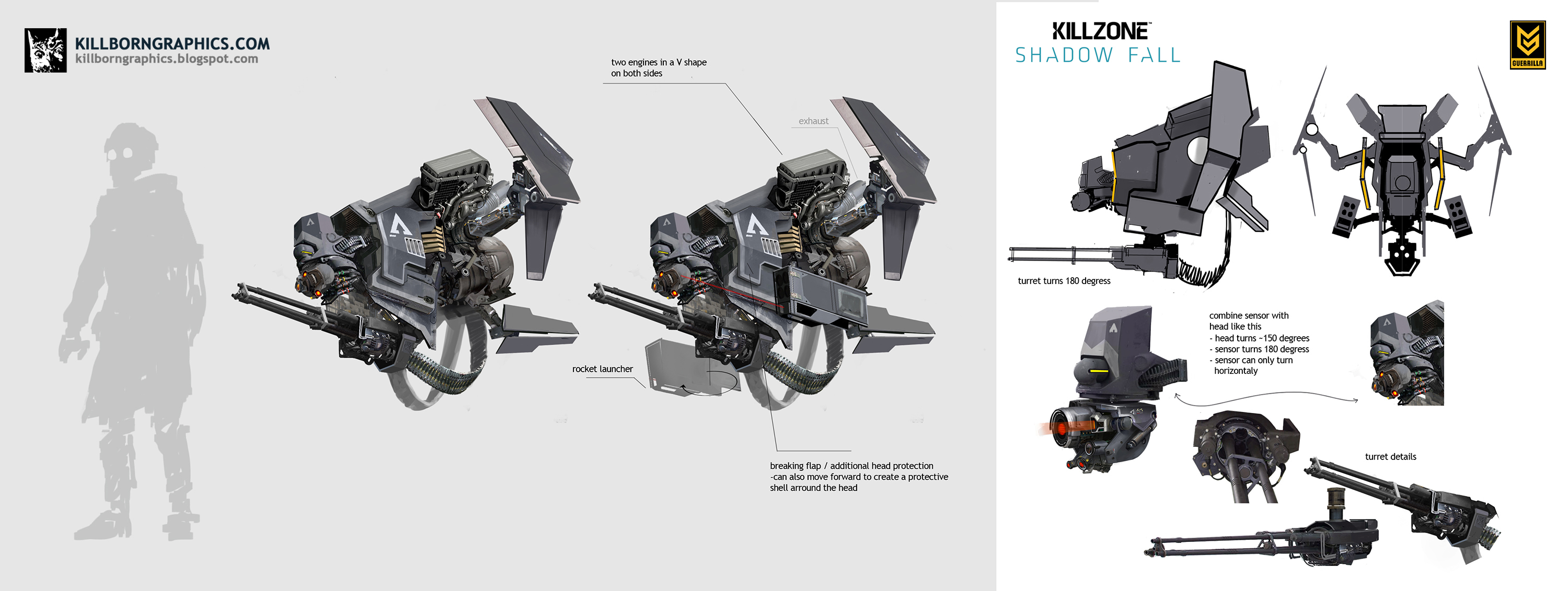 Concept Art Killzone Shadow Fall Of The Game