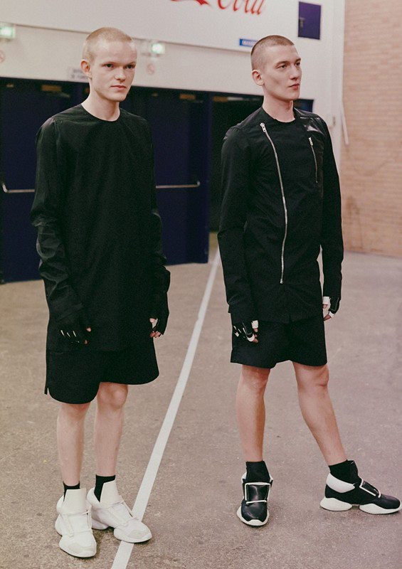 Rick Owens Mens SS 14 featuring Adidas Sneakers