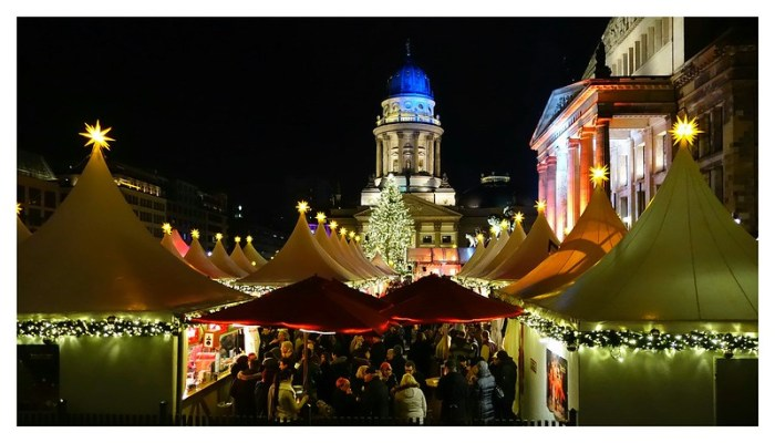 Christmas market Berlin: Gendarmenmarket