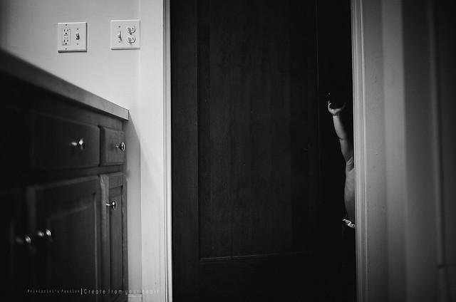 I am a big boy mama, I can shut the door alllllll by myself!!