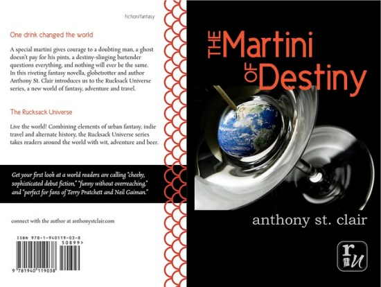 Trade Paperback cover for The Martini of Destiny