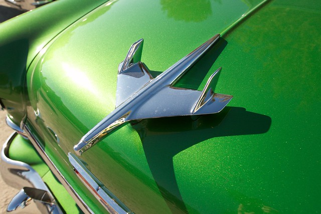 Green spaceship