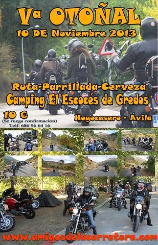 V Otoñal Amigos de la Carretera - Hoyocasero (Avila)