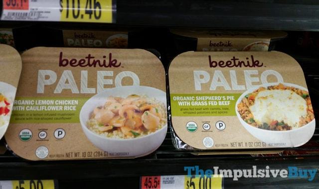 Beetnik Paleo Frozen Meals (Lemon Chicken with Cauliflower Rice and Shepard's Pie with Grass Fed Beef)