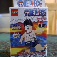 One Piece and DBZ Lego bootleg figures