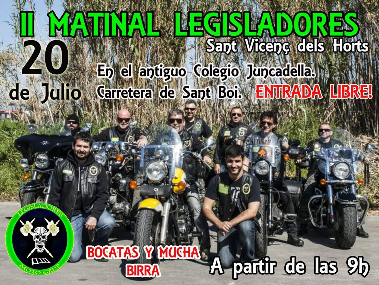 II Matinal Legisladores - Sant Vicenç del Horts