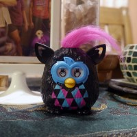 Furby and Doraemon McD Happy Meal toys