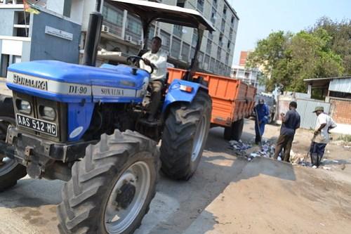 Processo de recolha de resíduos sólidos na Cidade de Quelimane/ ZO