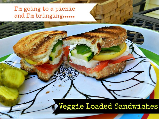 Veggie Loaded Sandwiches (1)p