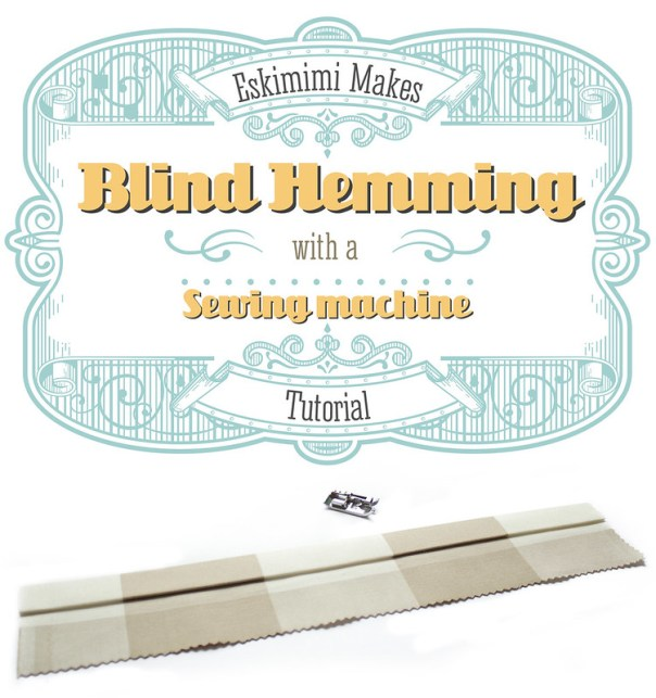 Bling Hem With A Sewing Machine Tutorial