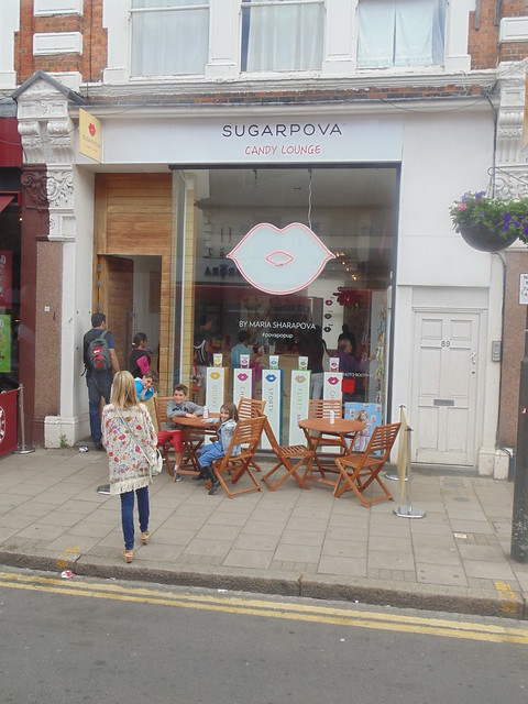 Sugarpova pop-up store