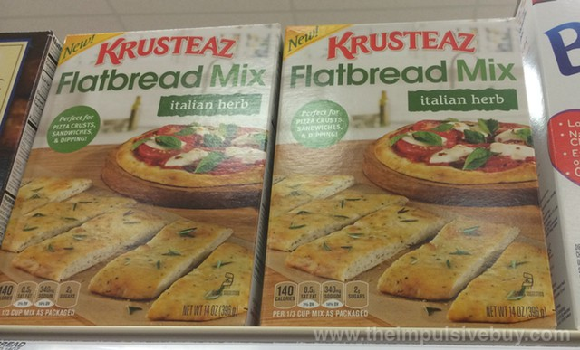Krusteaz Italian Herb Flatbread Mix