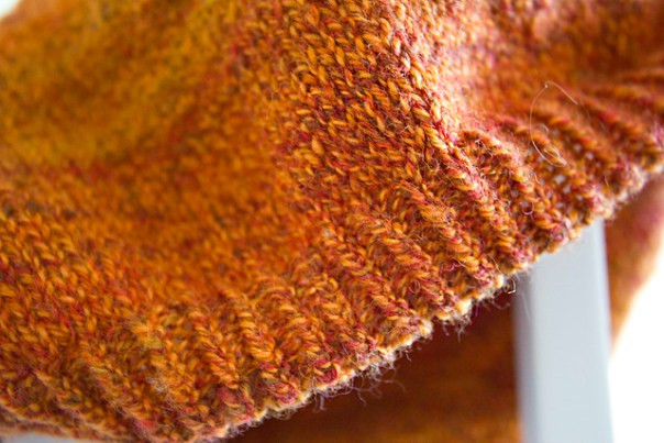 detail of ribbing