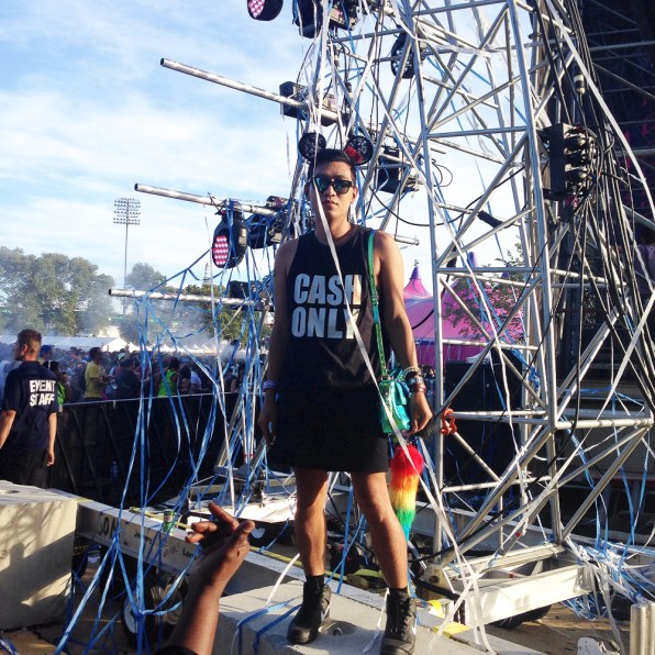 Bryanboy goes to Electric Zoo 2014 Day 1