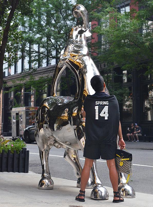 Bryanboy in Soho, New York City