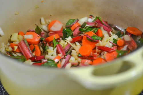 One-Pot Chicken & Rice with Swiss Chard (6 of 13)