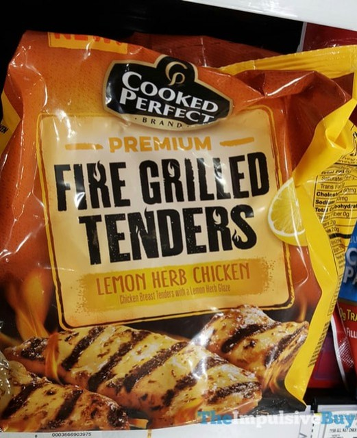 Cooked Perfect Lemon Herb Chicken Premium Fire Grilled Tenders