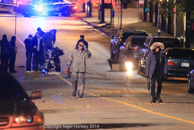 The Flash, night shoot, October 16 2014, Vancouver   42