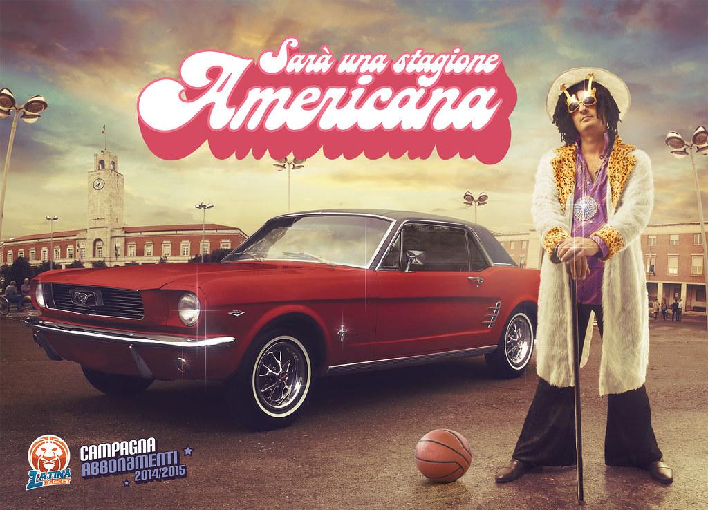 Latina Basket Season Ticket Campaign - An American Season 2