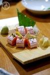 Salmon Belly Sashimi, $12.50