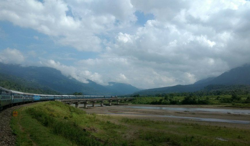 Through the Borail Hills, Dima Hasao - Assam