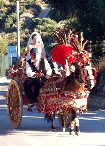 the bride, Scopello