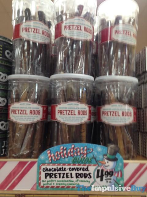 Trader Joe's Chocolate-Covered Pretzel Rods