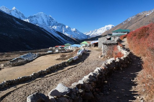 Dingboche morning