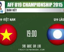 Xem lại: U19 Việt Nam vs U19 Lào