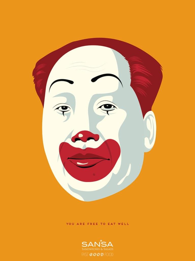 Sansa Fast Good Food - Dictators 3 Kim Jung un