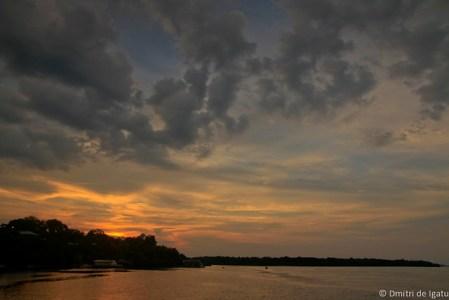 Fim de tarde no Rio Negro, Novo Irão