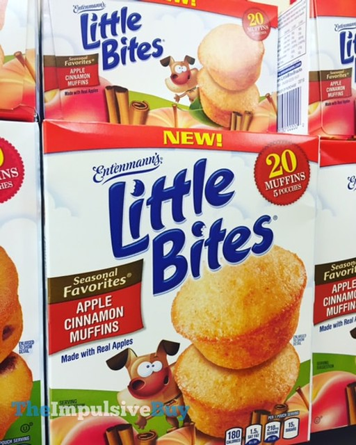 Entenmann's Seasonal Favorites Apple Cinnamon Muffins Little Bites