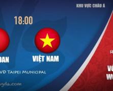 Xem lại: Đài Loan vs Việt Nam