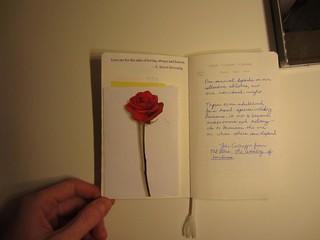 Leuchturm notebook-extra pocket
