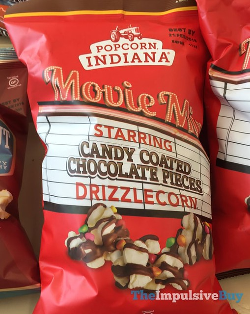 Popcorn Indiana Movie Mix Candy Coated Chocolate Pieces Drizzlecorn