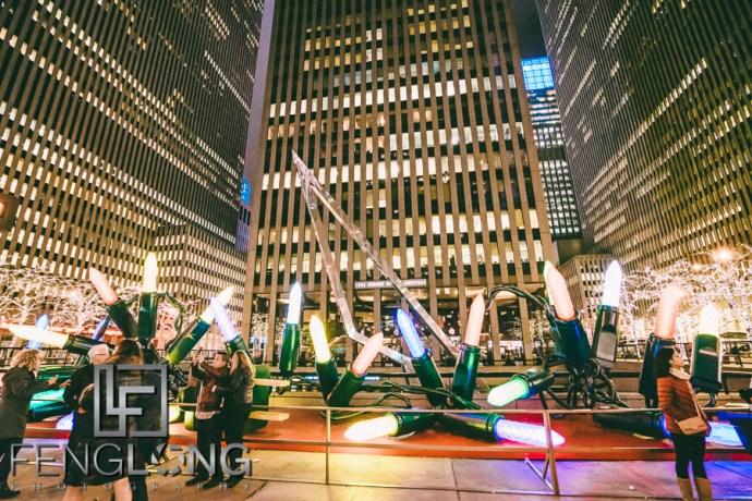 New York City Arch Windows Financial District