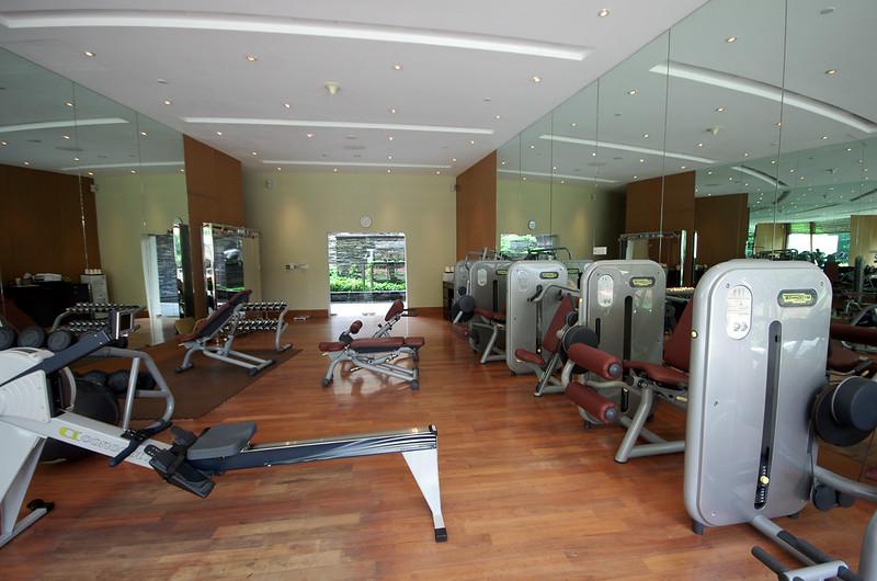 fitness centre capella singapore