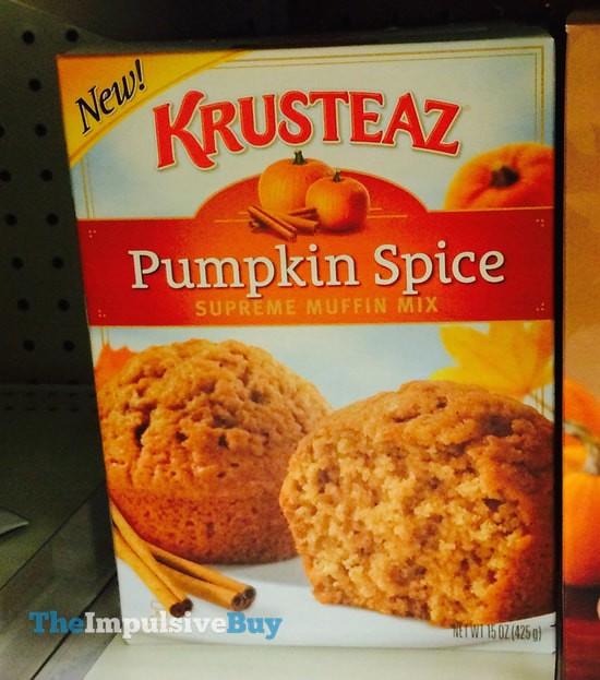 Krusteaz Pumpkin Spice Supreme Muffin Mix
