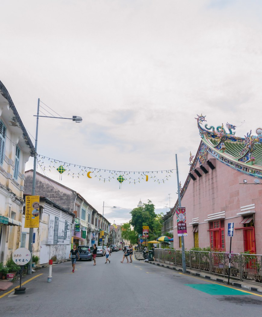 Beautiful Temples and equally beautiful streets, George Town - Penang