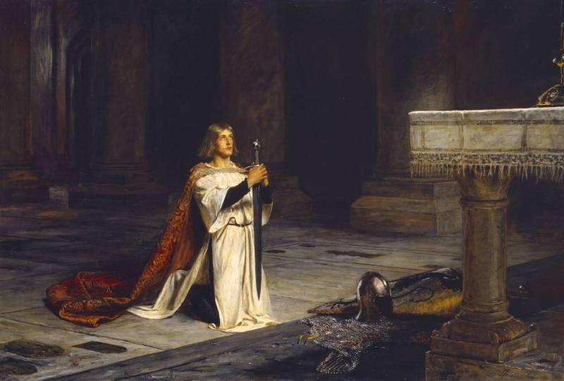 The Vigil by John Pettie 1884