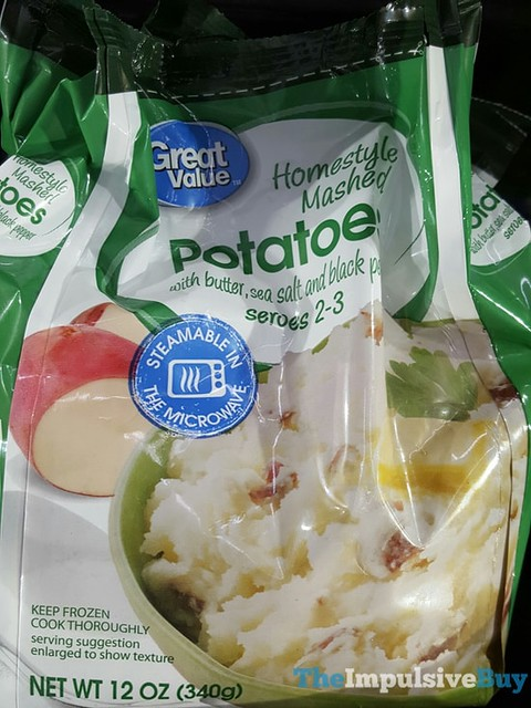 Great Value Homestyle Mashed Potatoes